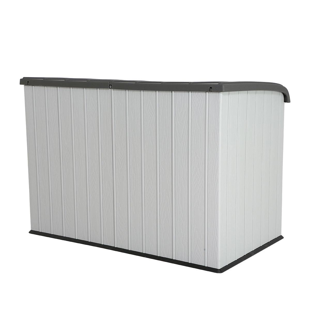 Gerätebox-Mülltonnenbox, 132x191x108 cm, grau | #2