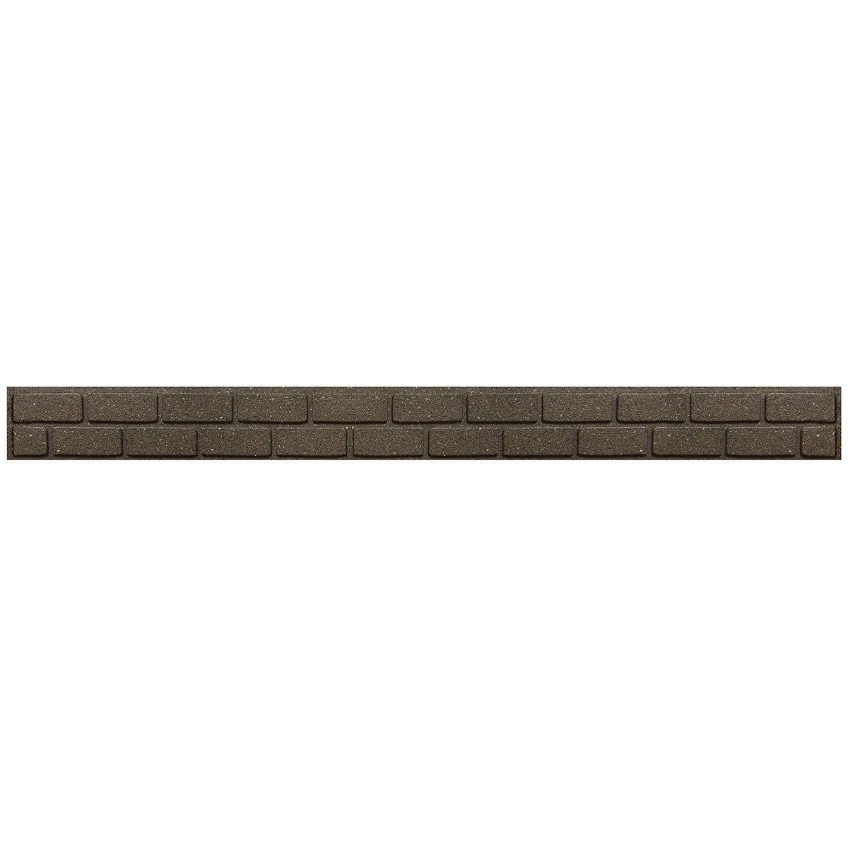 Rasenkante Mauer 6er-Set, 720 cm, braun | #2