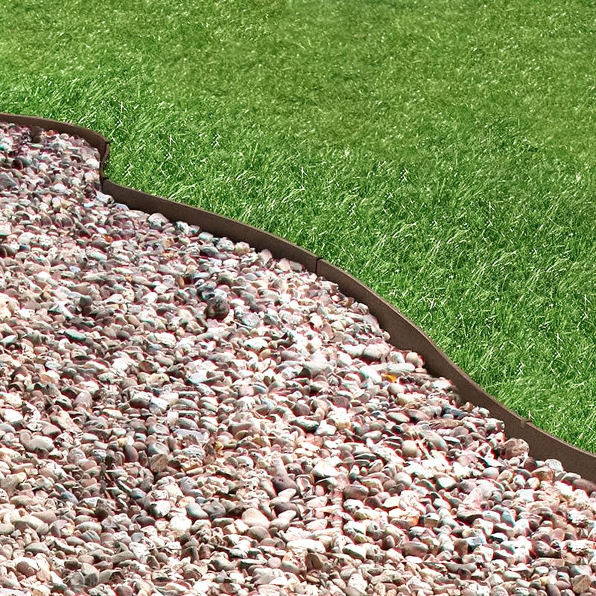 Rasenkante Klassik, 600 cm, braun | #2