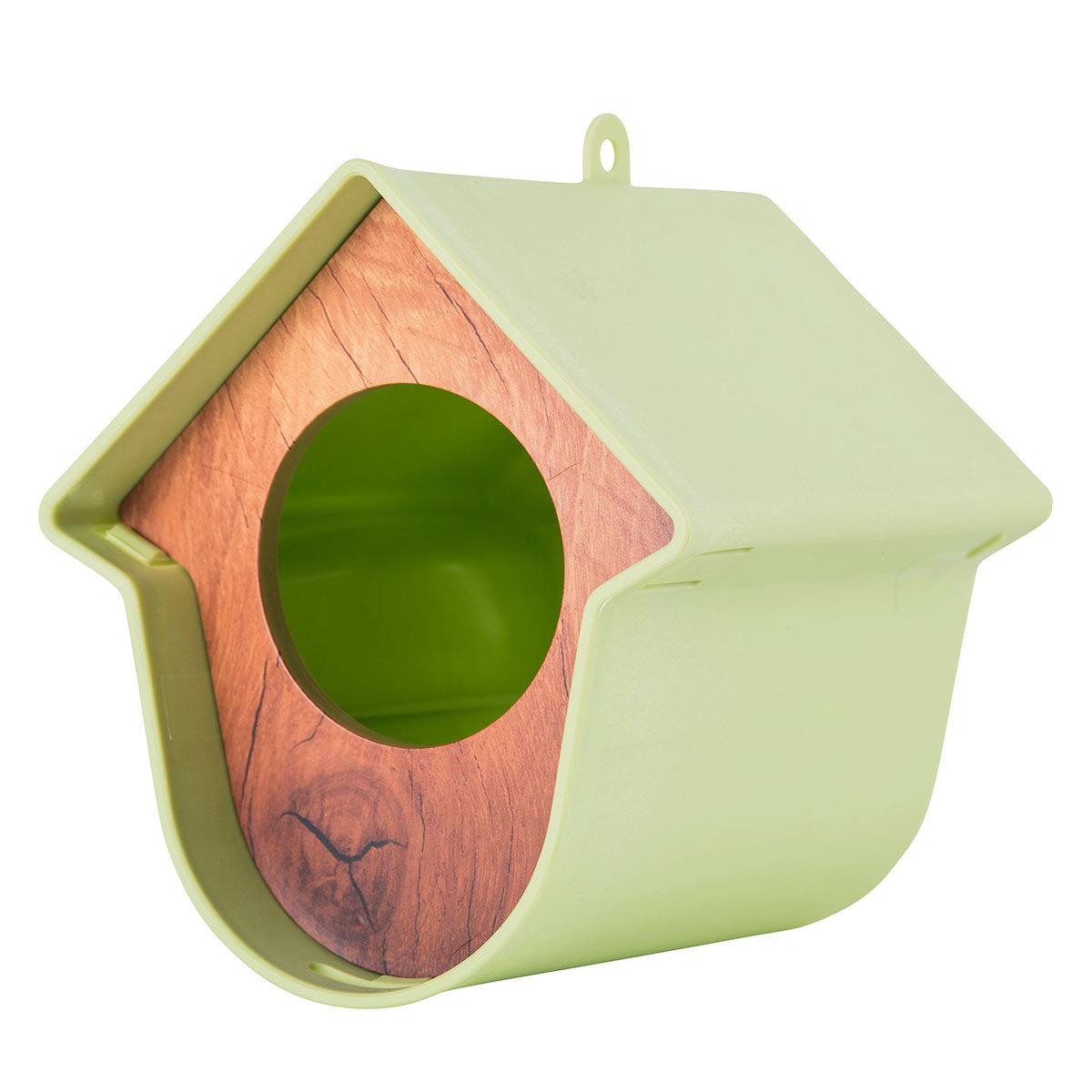 Erdnussbutterglashalter Evie, 13x15x17 cm, Kunststoff, hellgrün | #2