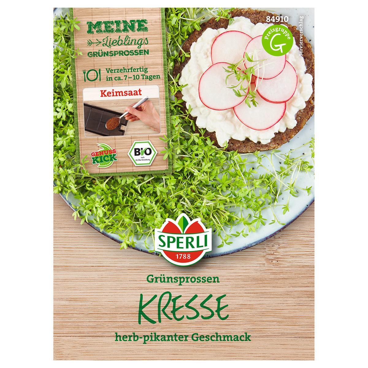 BIO Grünsprossen Kresse, 50 g | #2