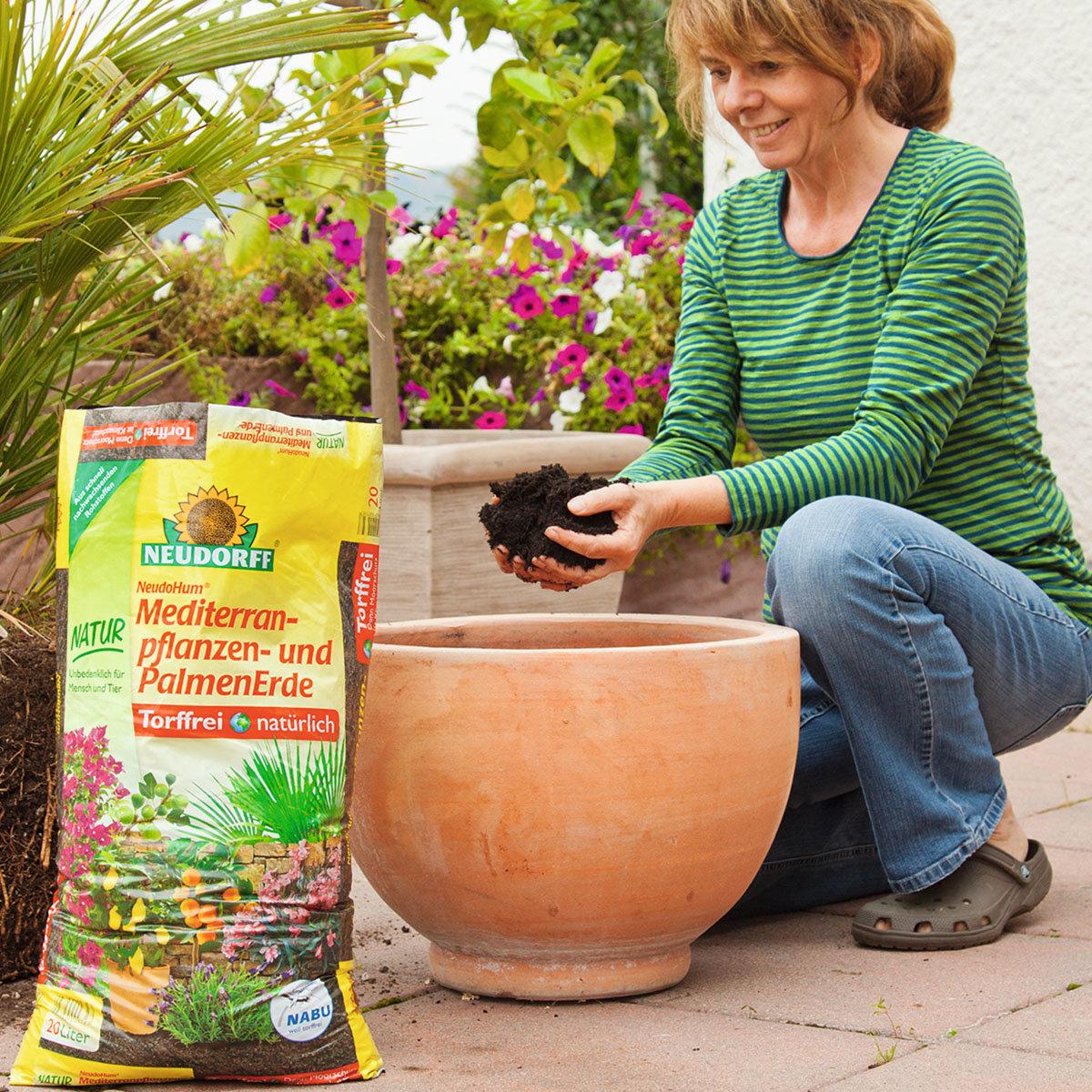 NeudoHum® Mediterranpflanzen- und Palmenerde, 10 Liter   #2