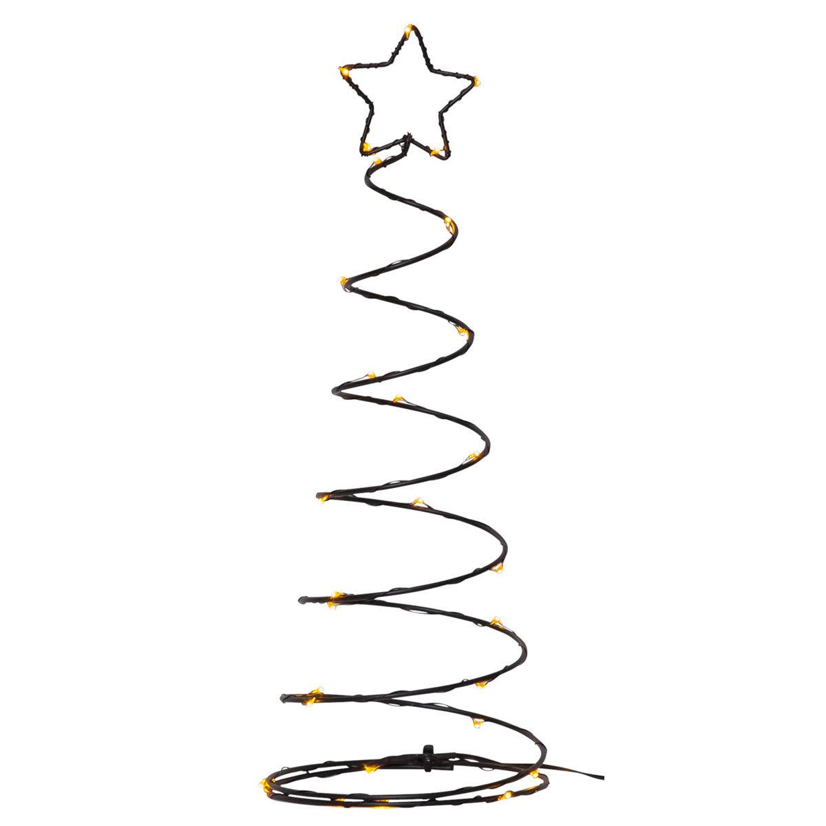 LED-Baum Dizzytree, 40x15x15 cm, Metall, schwarz   #2