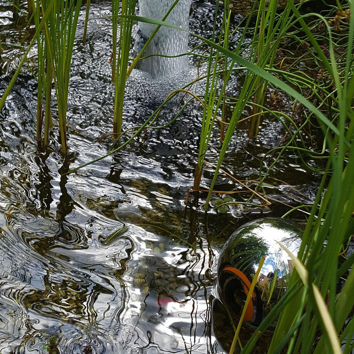 Reflektor-Schwimmkugel Reiherschreck | #2