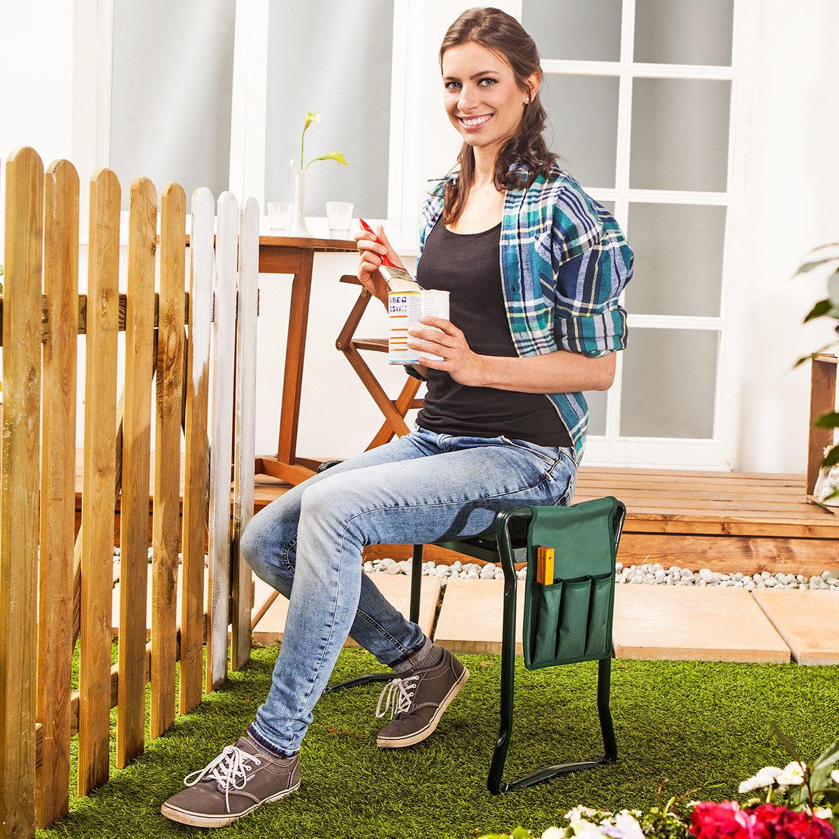 Knie- und Gartenbank, 55x30x50 cm, Traglast max. 150 kg | #2