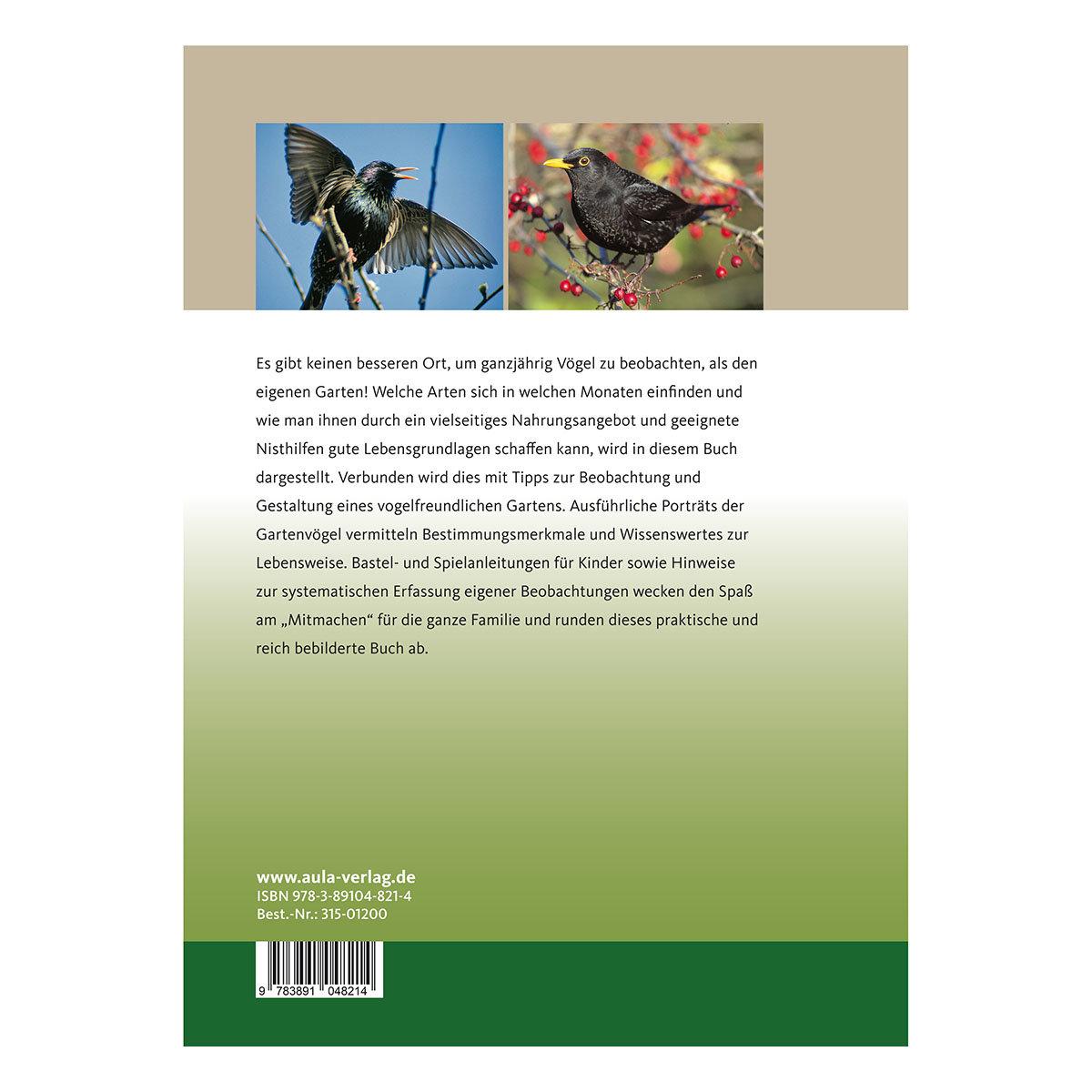 Gartenvögel rund ums Jahr -  Beobachten - Füttern - Ansiedeln   #2