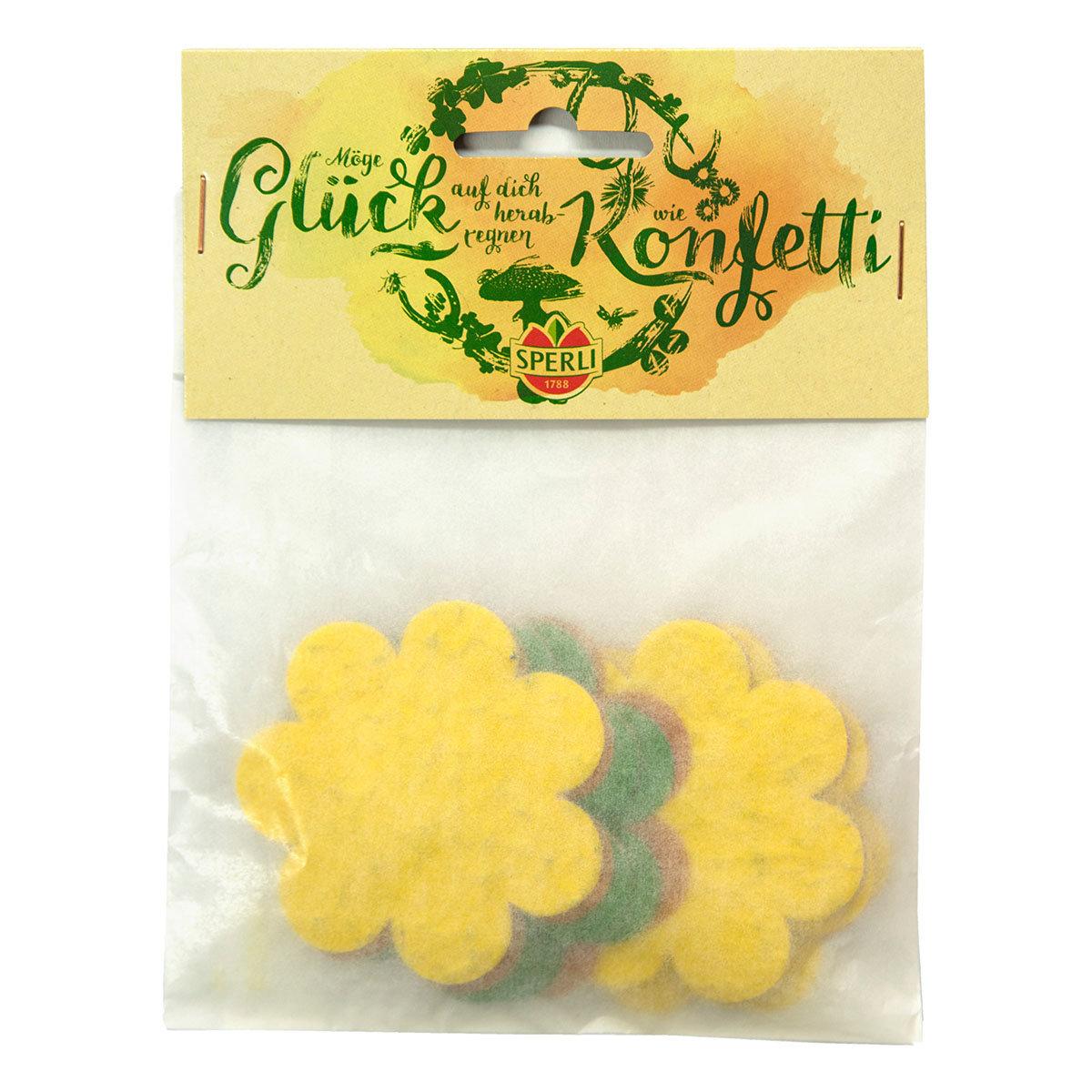 Konfetti aus Saatpapier in Blütenform | #2