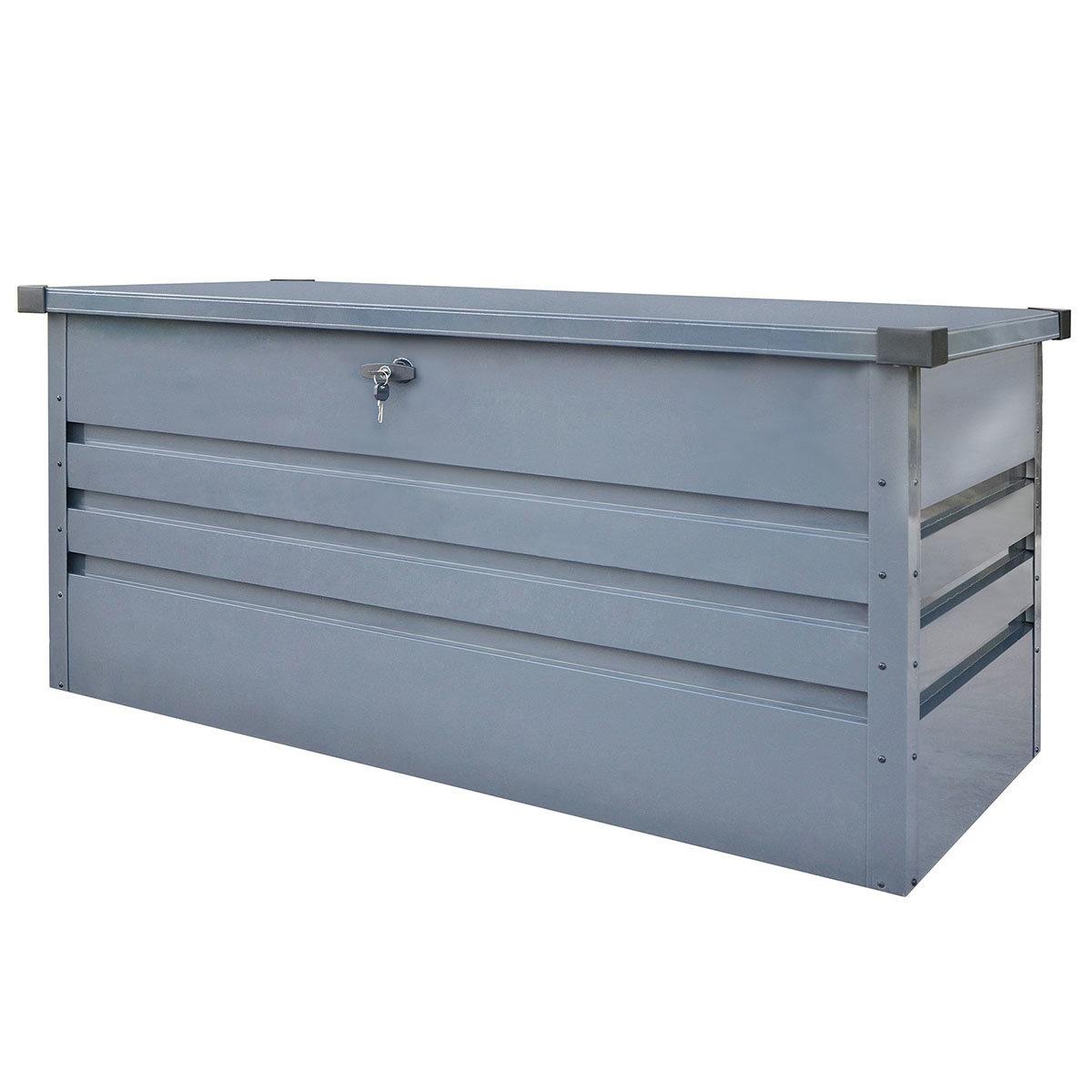 Auflagenbox Mega, mit Bodenplatte, verschließbar, 400 Liter Volumen | #2