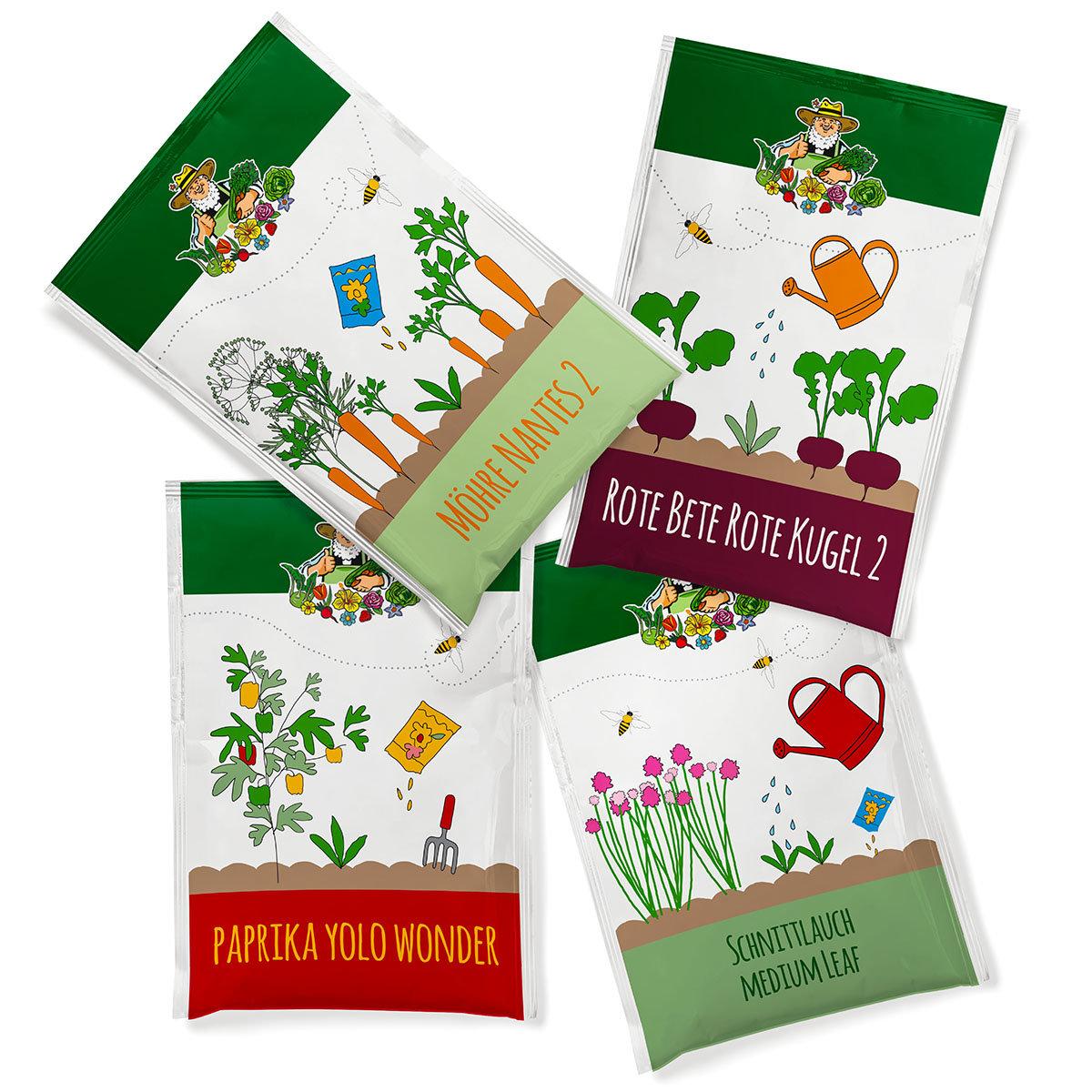 Saatgut-Adventskalender Kräuter & Gemüse | #2