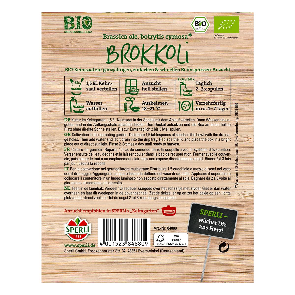 BIO Keimsprossen Brokkoli | #2