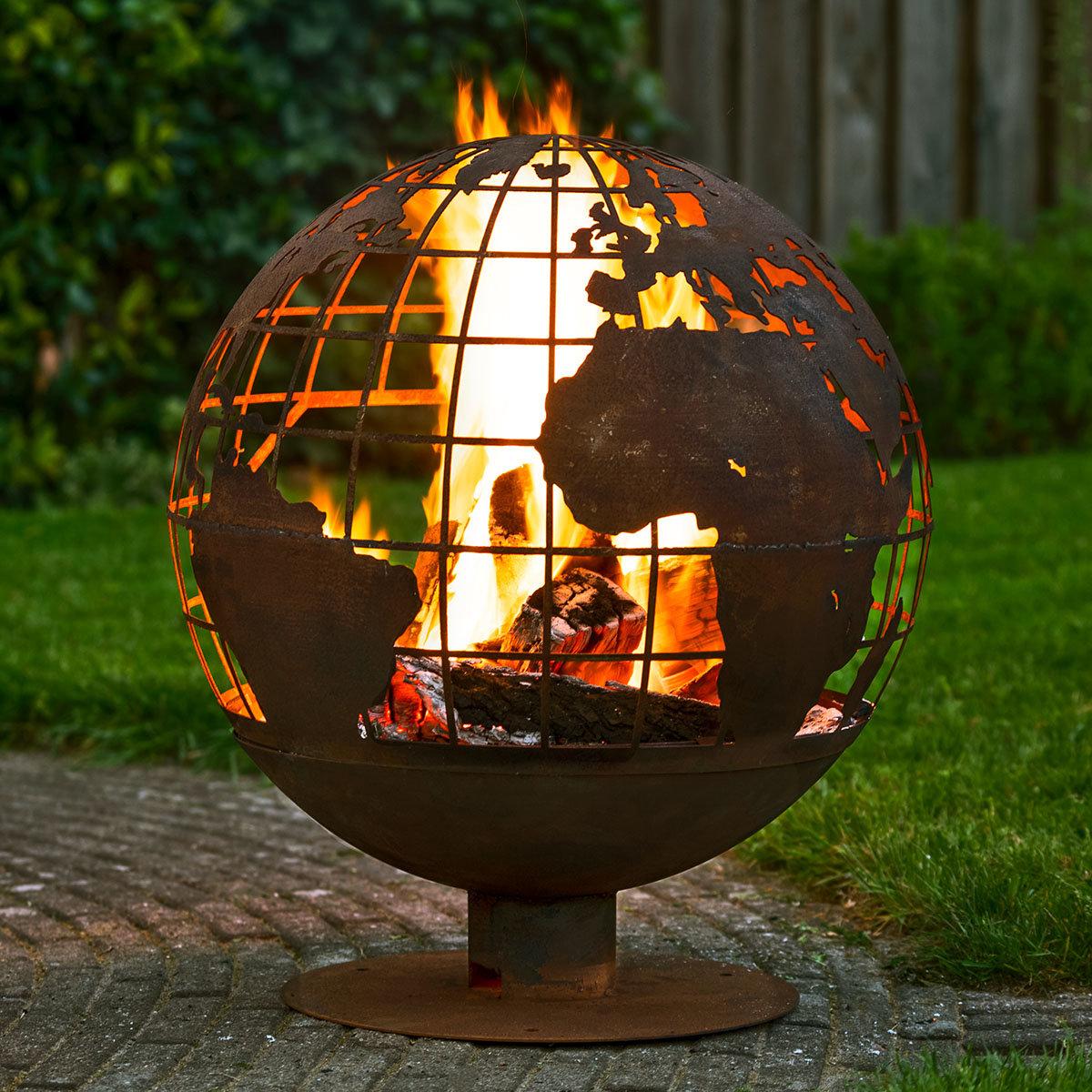 Feuerball Lasercut Globus | #2