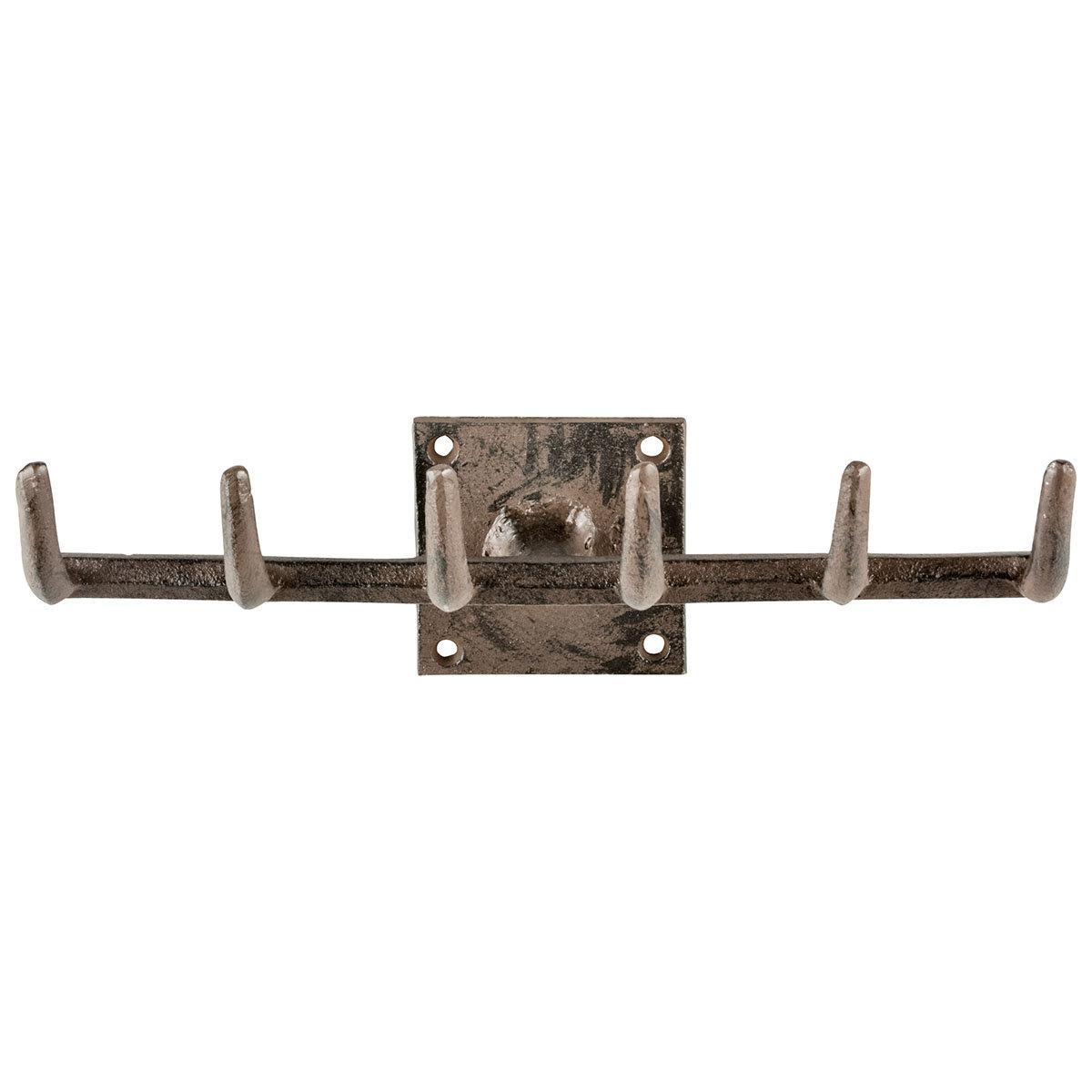 Werkzeughaken Gartenharke, Gusseisen, mit 6 Haken, ca. 27,5 cm | #2