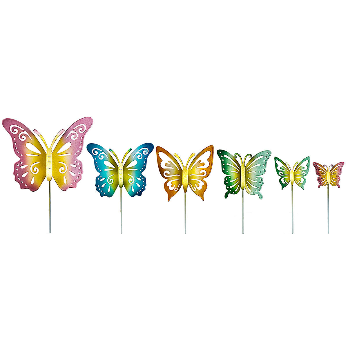 "Dekostecker ""Schmetterlinge"" 6er-Set | #2"