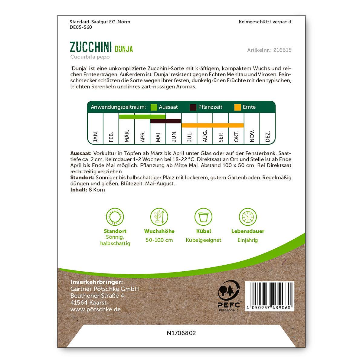 Zucchinisamen Dunja | #2