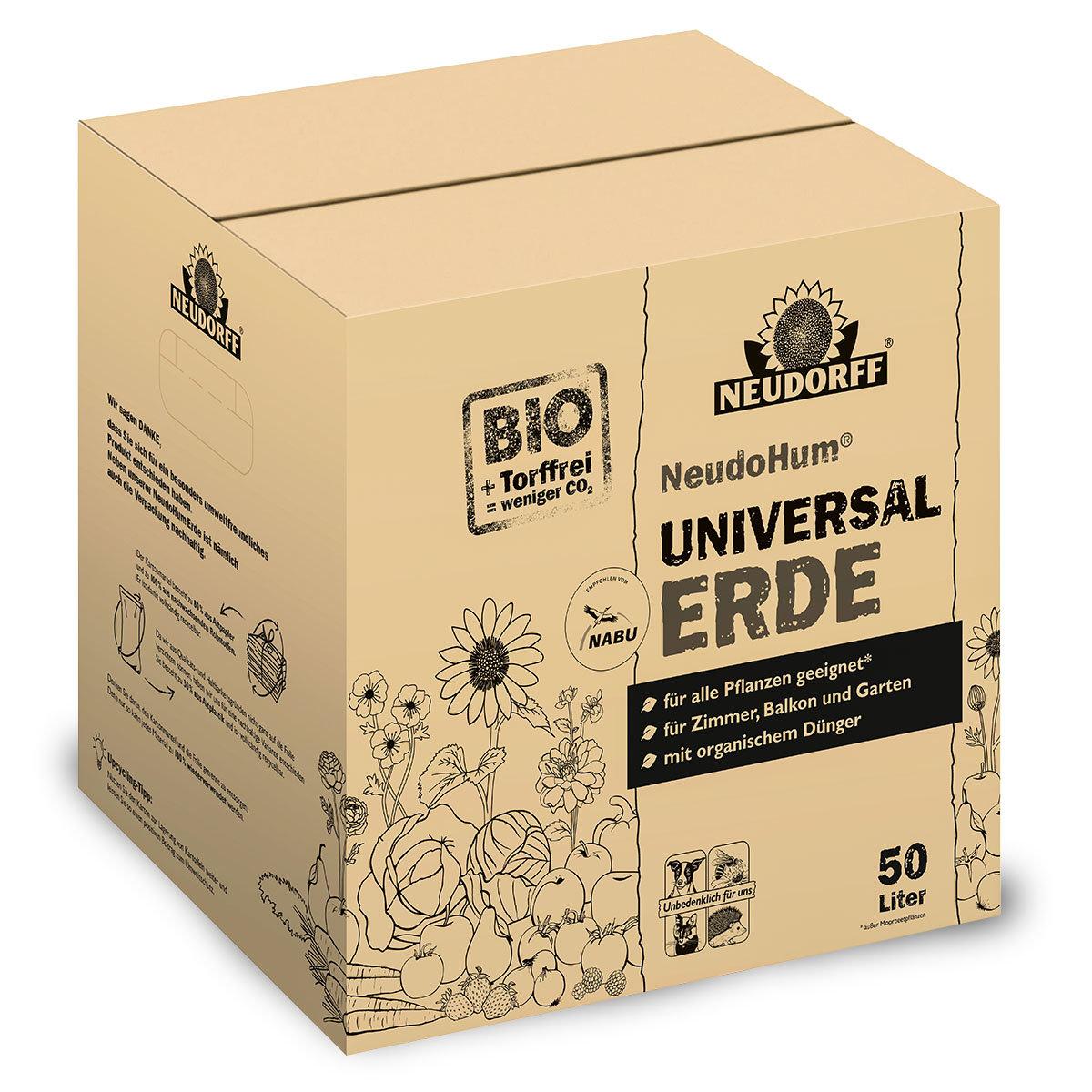 NeudoHum® torffreie Universalerde im Karton, 50 Liter | #2