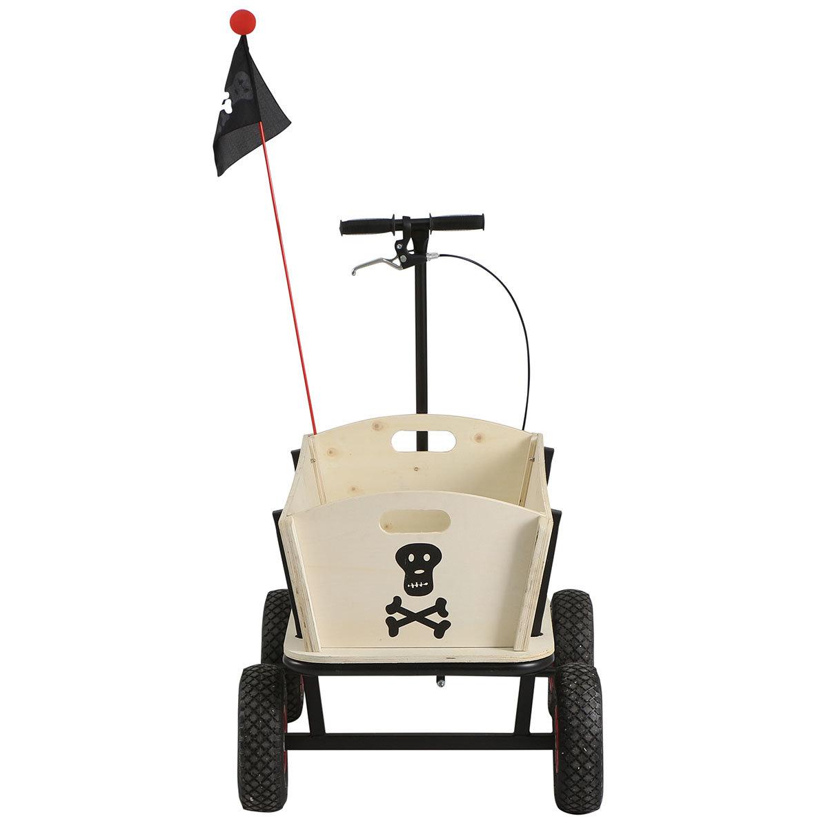Bollerwagen Pirat, mit Bremse | #2