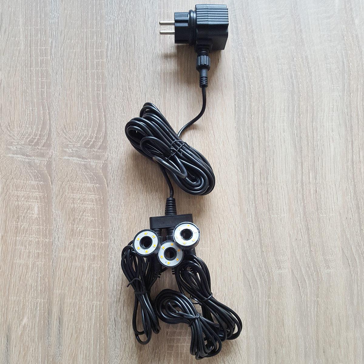 LED-Ring 32mm warmweiss mit Trafo, 3er-Set | #2