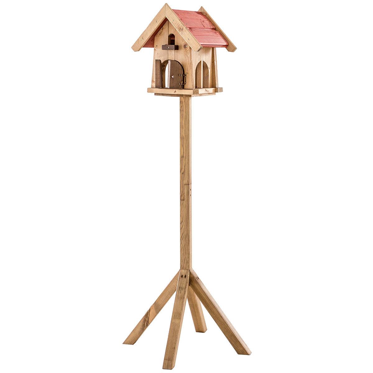 Vogelfutterhaus Max, mit Ständer, Holz | #2