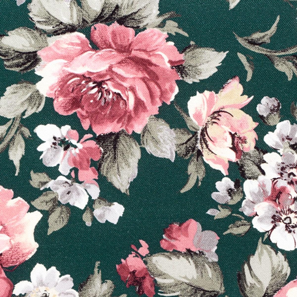 Gartenbank-Auflage Lissa, 110 cm, Blume-petrol | #2