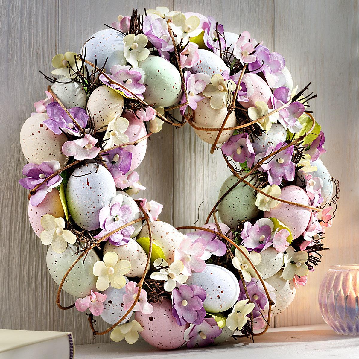Türkranz romantische Ostern,  ca. 30 cm | #2