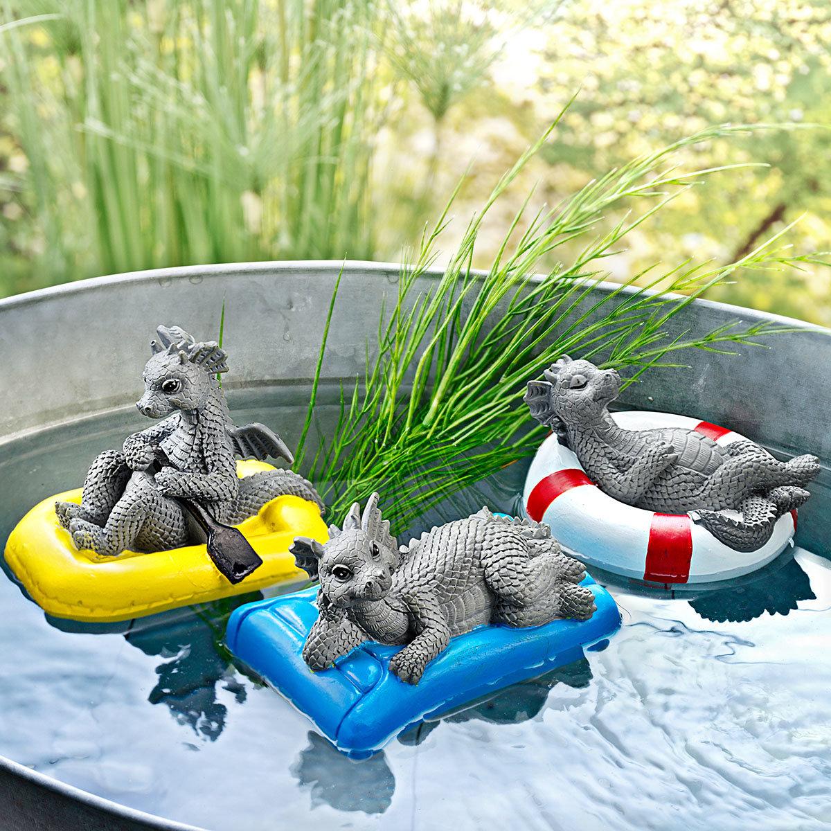Teichschwimmer Set Drachen, 3-teilig | #2