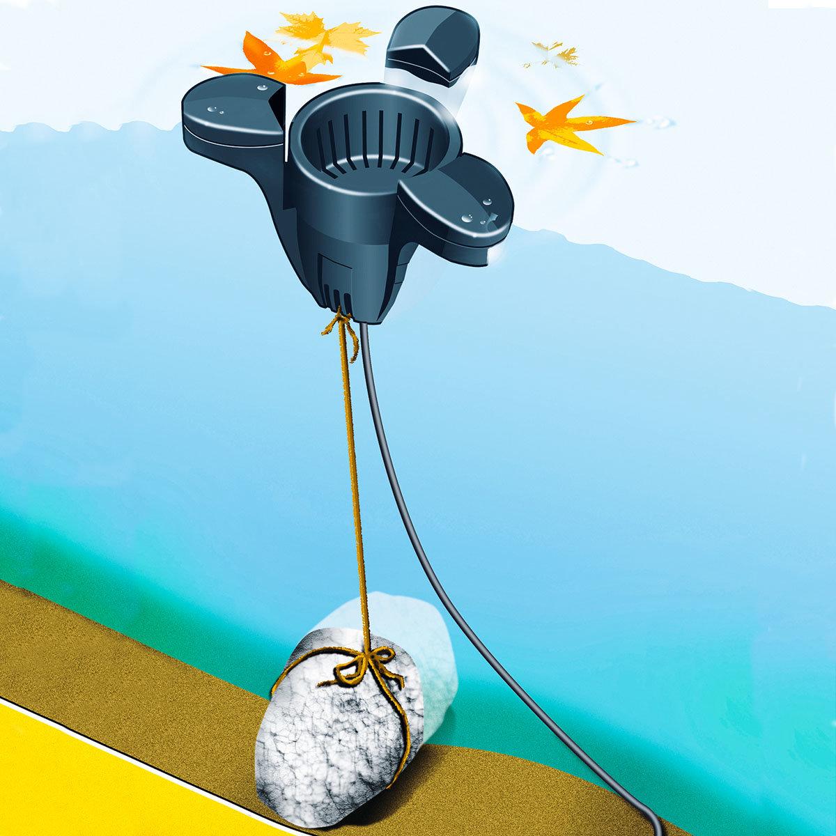 Skimmer-Set inkl. 2600 L Pumpe | #2