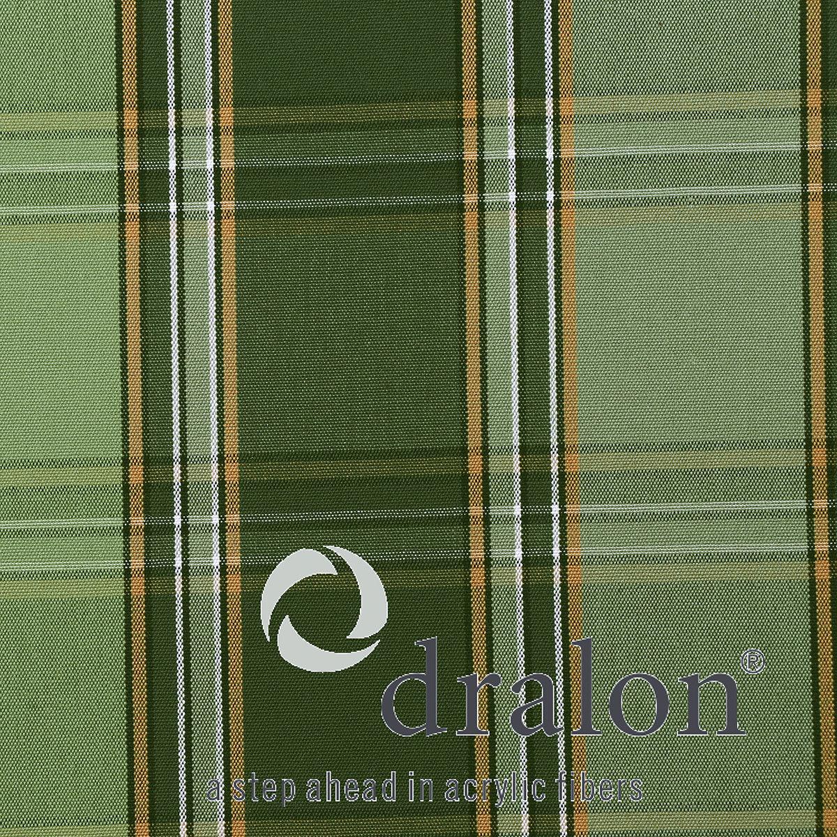 Auflage Tarent Gartenbänke, 110 cm, karo grün | #2