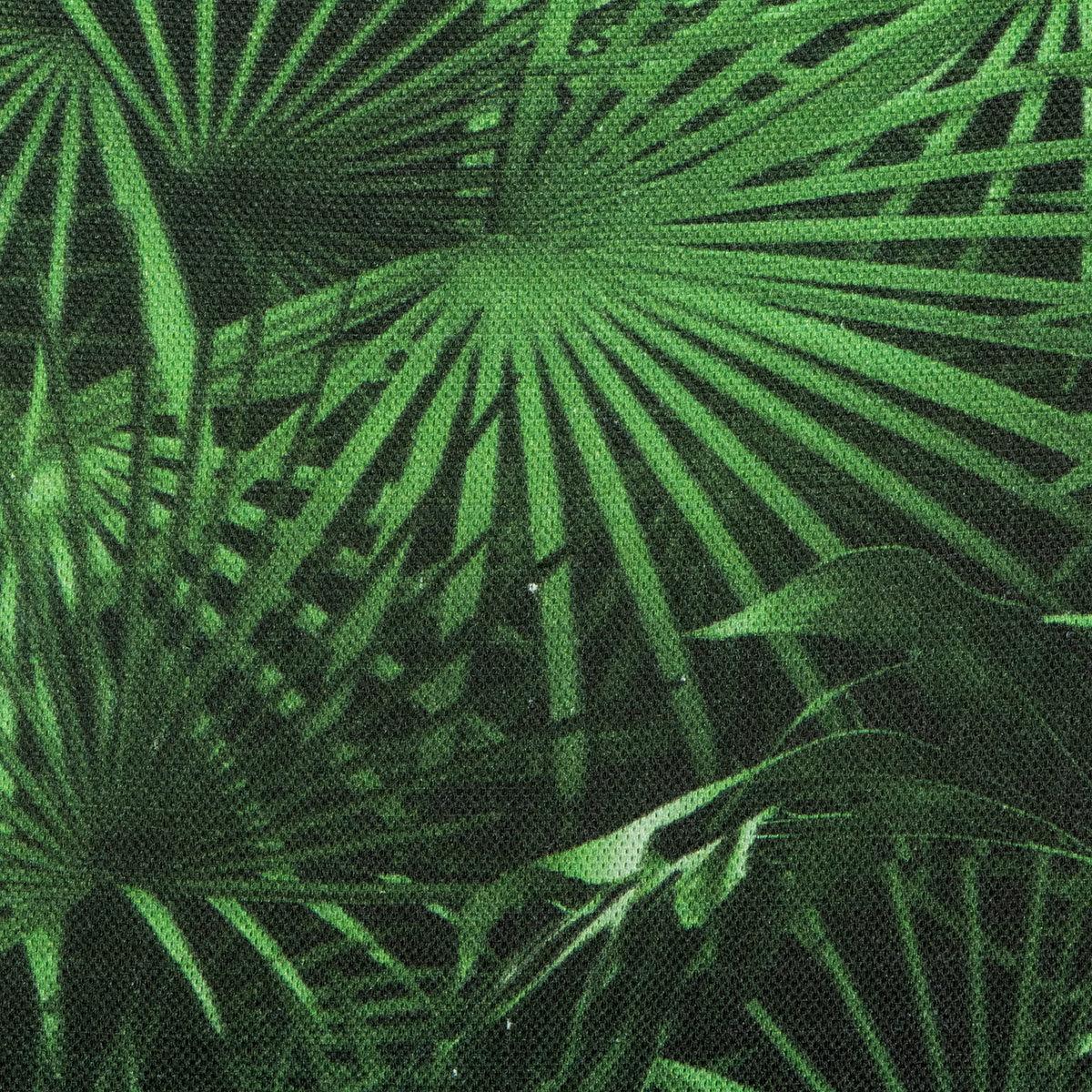 Sitzkissen Tarent, 47x47 cm, grüne Palme | #2