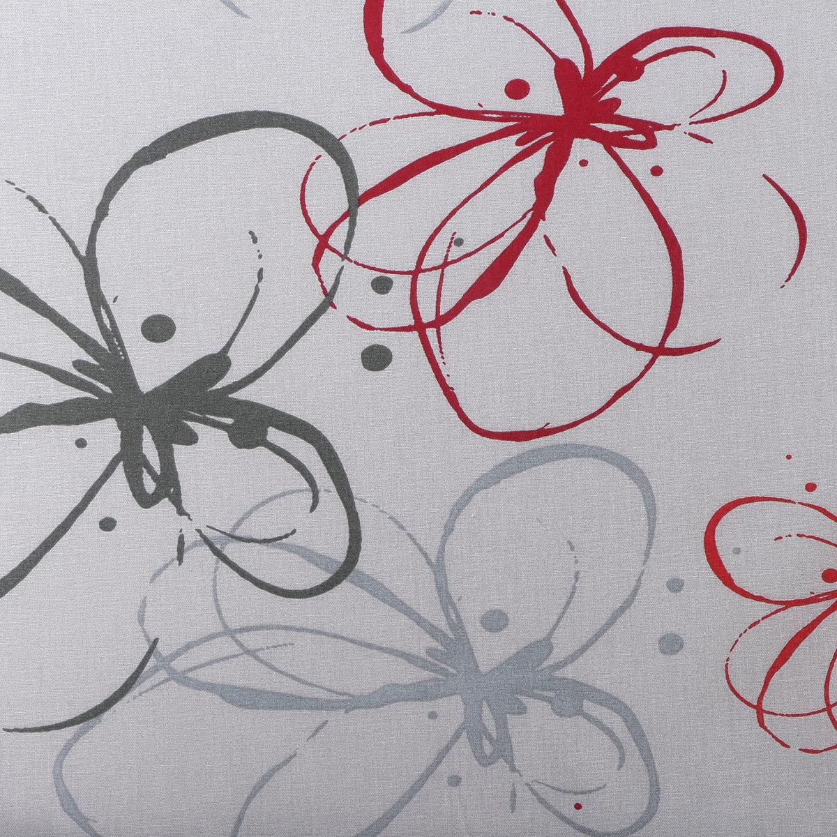 Sessel-Auflage Mika, rote Blume | #2