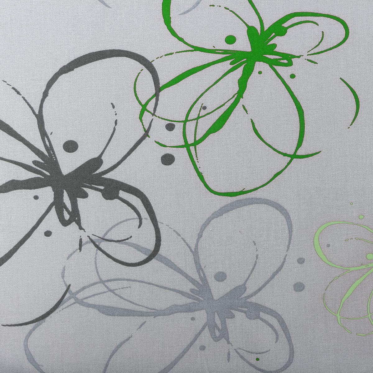 Sessel-Auflage Gabi, grüne Blume | #2