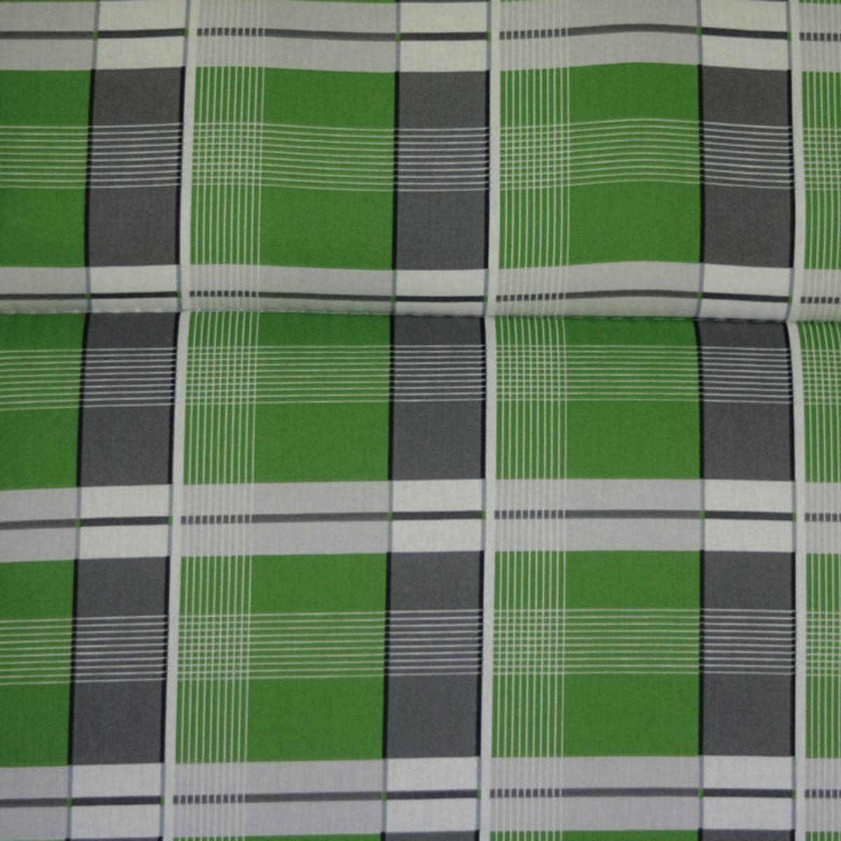 Hochlehner-Auflage Gabi, karo grün | #2