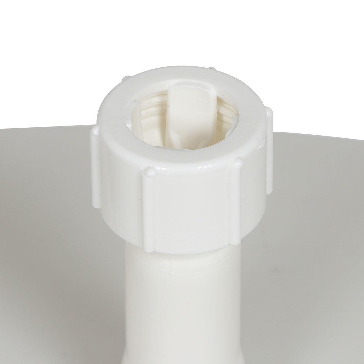 Schirmständer für Schirmstöcke 18-32 mm, 20l, befüllbar, weiß | #2