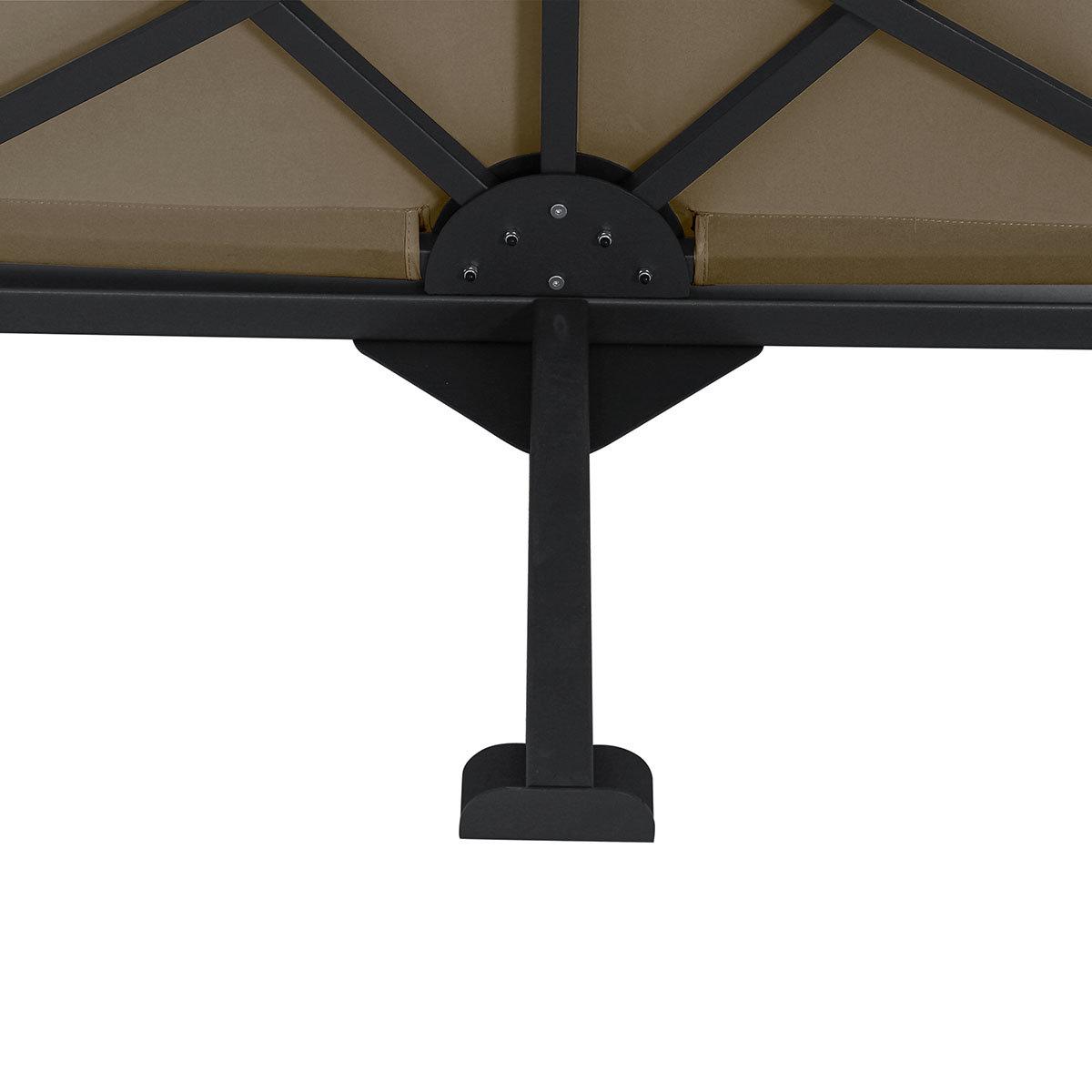 Sichtschutz Ben Blickdicht, 150x250 cm, taupe | #2