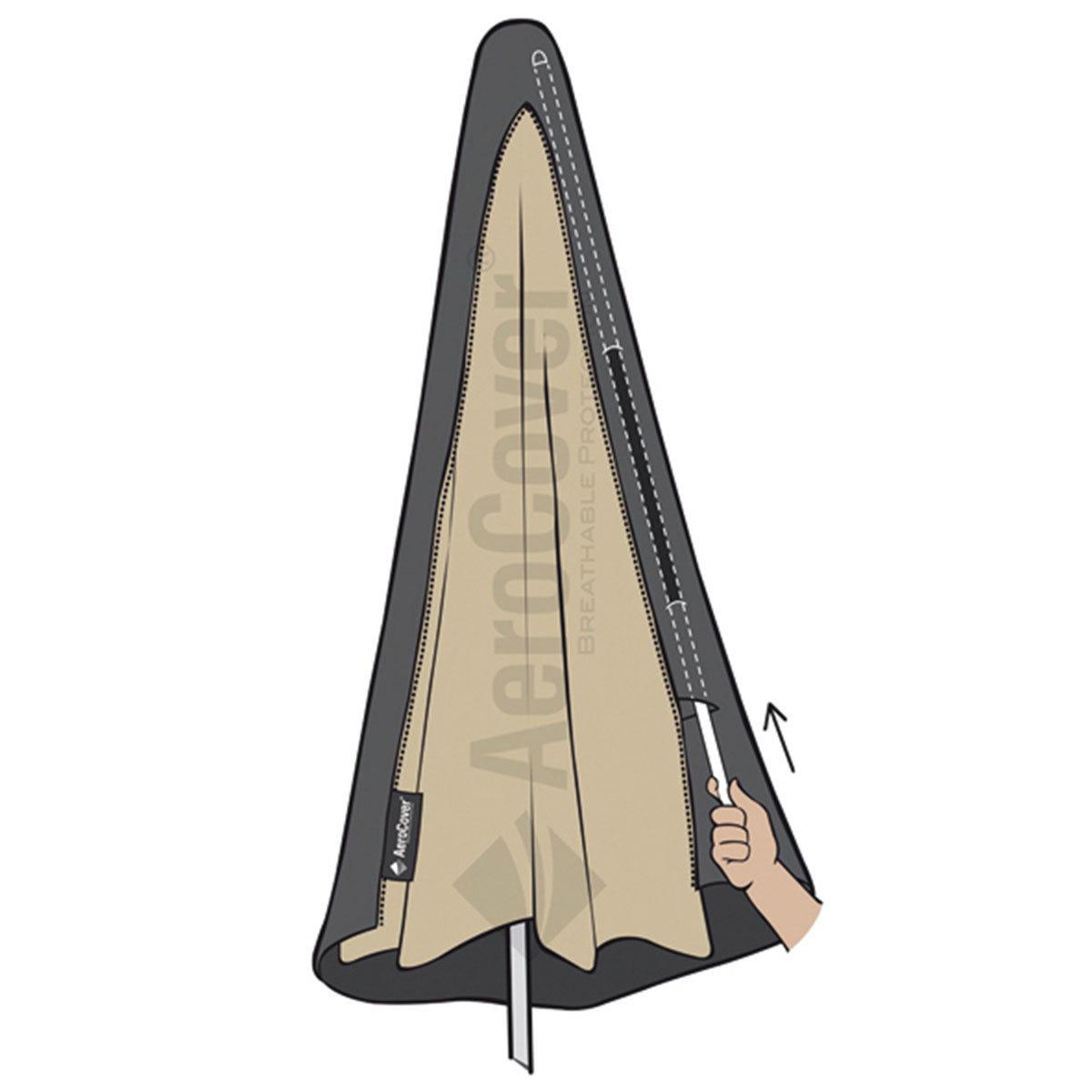 Schutzhülle AeroCover für Stockschirme bis Ø 4 m   #2
