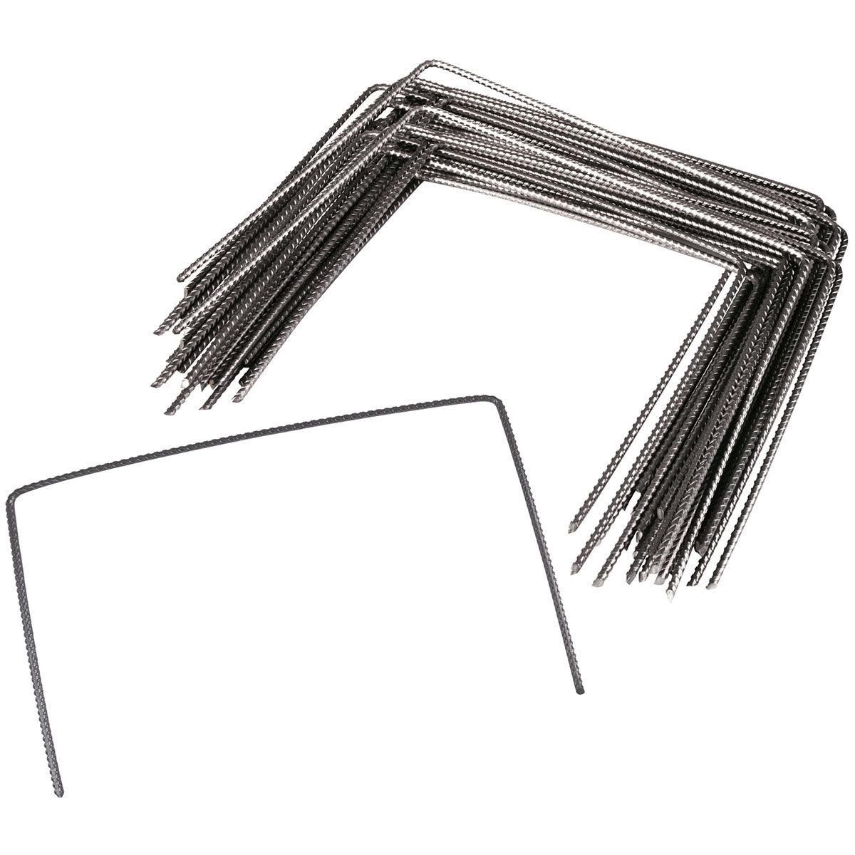 Metall-Hering, gerippt, 20 x 25 cm, 100 Stück   #2