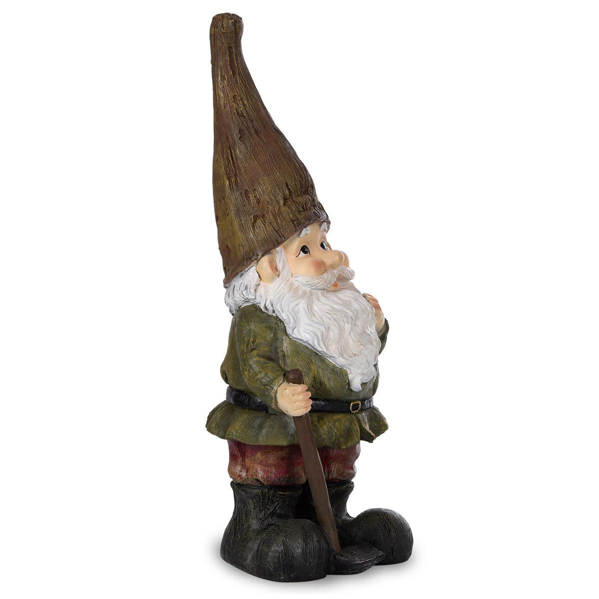 Gartenzwerg Günter mit brauner Mütze | #2