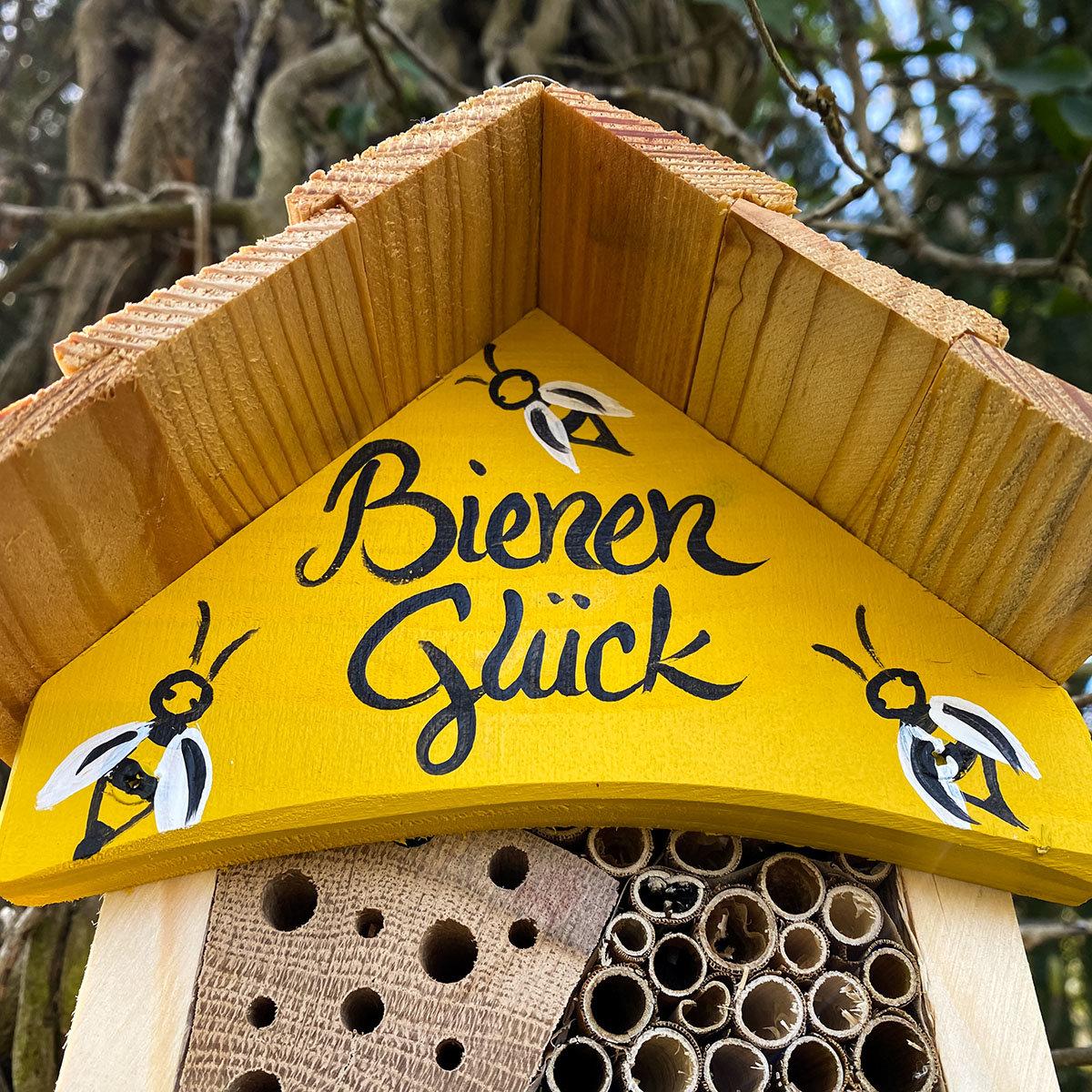 Bienenhotel Bienenglück mit  Anbau   #2