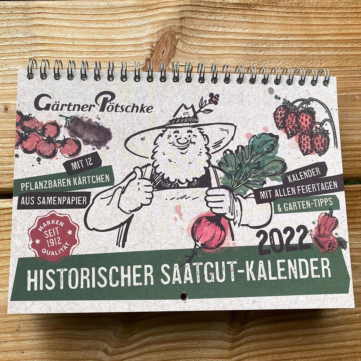 Einpflanzbarer Kalender - Historisches Saatgut | #2