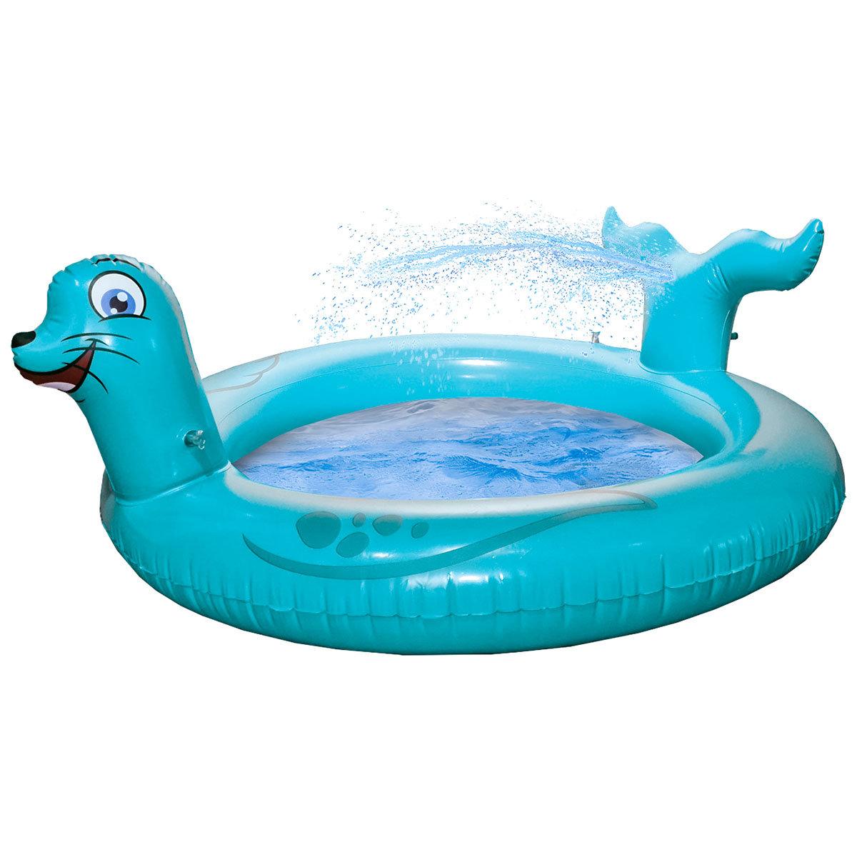 Pool Seelöwe mit Sprühfunktion, 122x18cm | #2
