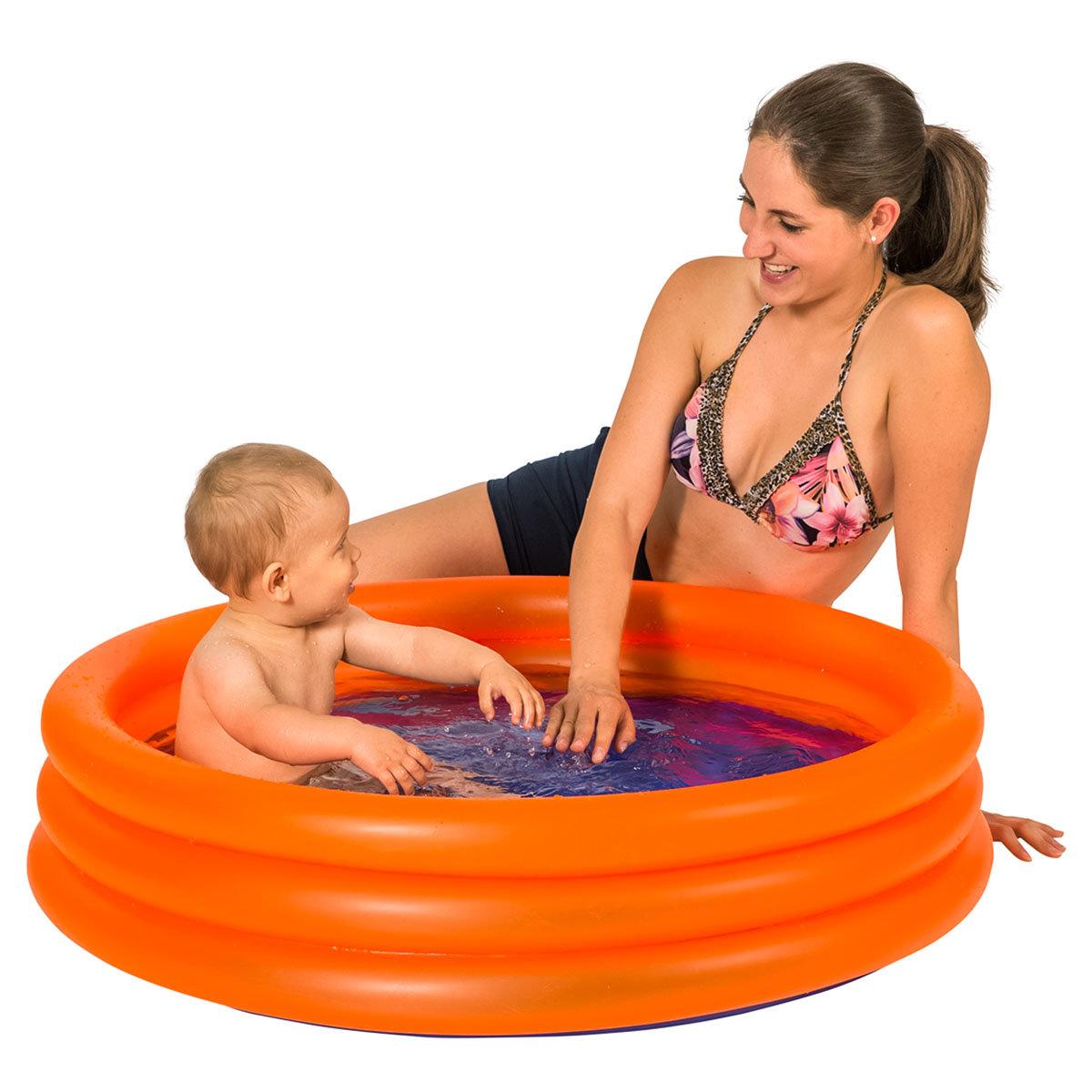 Mini-Pool, 100x100x23cm, orange | #2