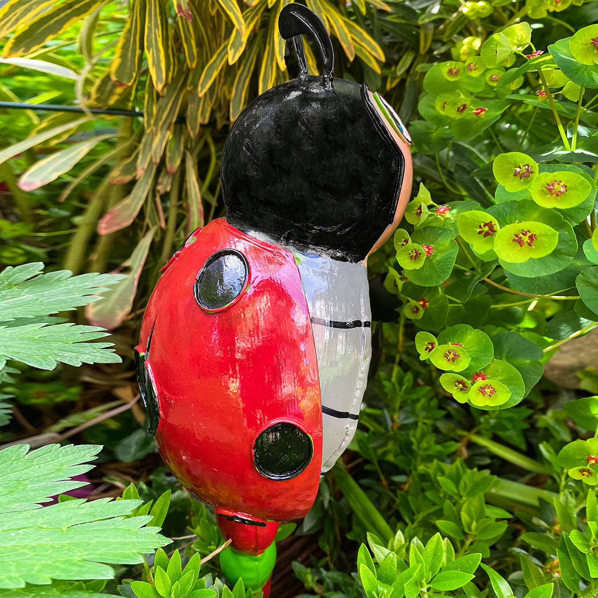 Gartenstecker Marienkäfer Milo | #2