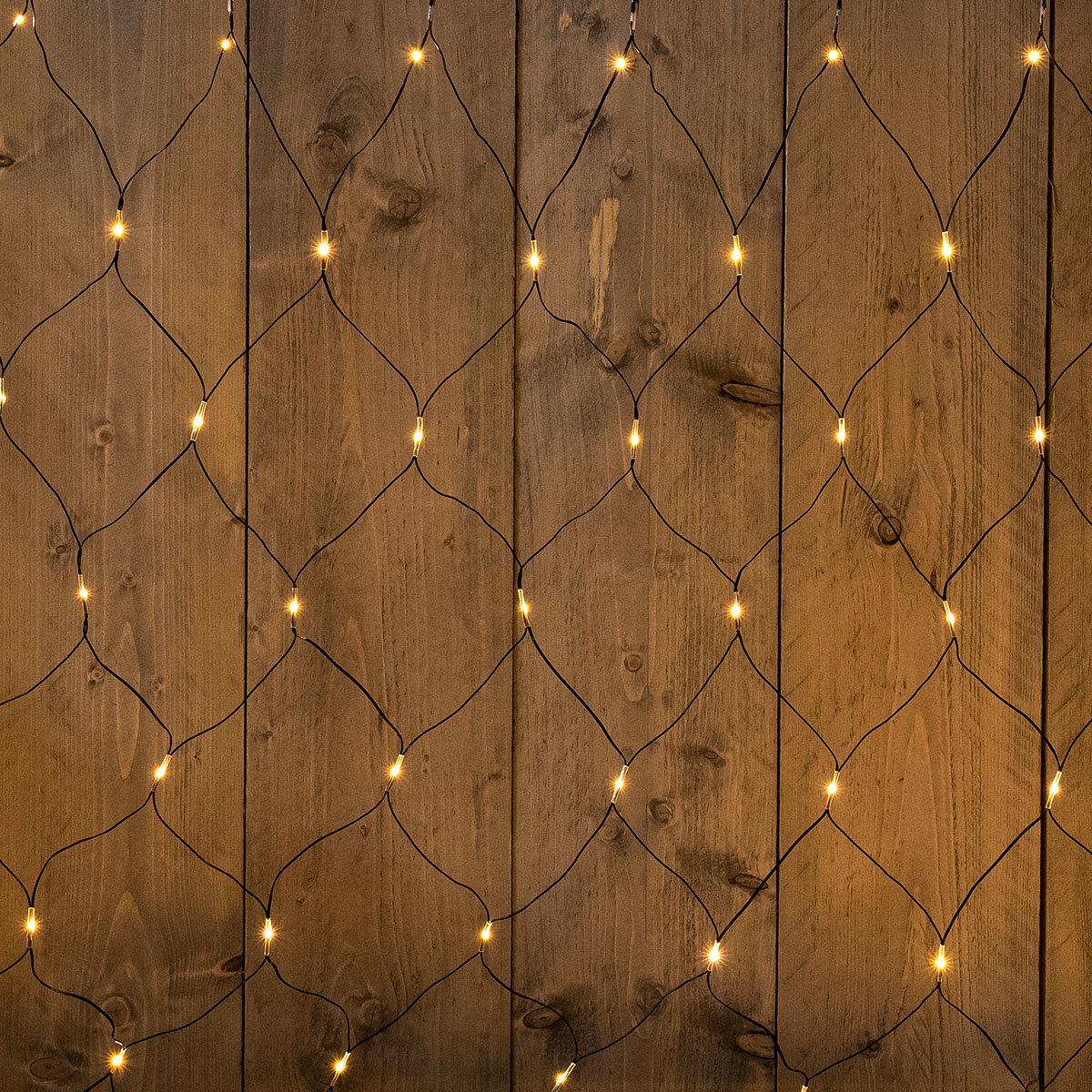 LED-Lichternetz, 240 LEDs, 200x200 cm, weiß   #2