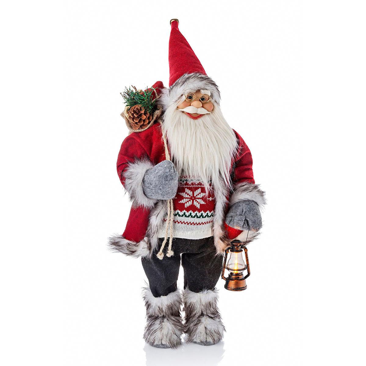 Deko-Weihnachtsmann Lucian,  60cm   #2