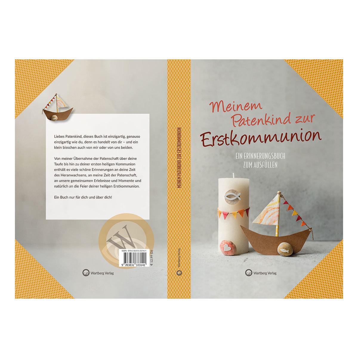 Meinem Patenkind zur Erstkommunion, ein Ausfüllalbum | #2