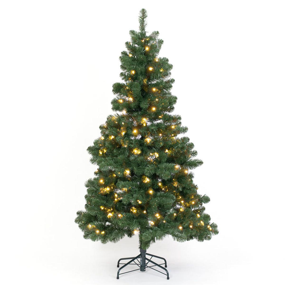 Künstlicher Weihnachtsbaum Kiefer mit LED-Beleuchtung, 180 cm   #2