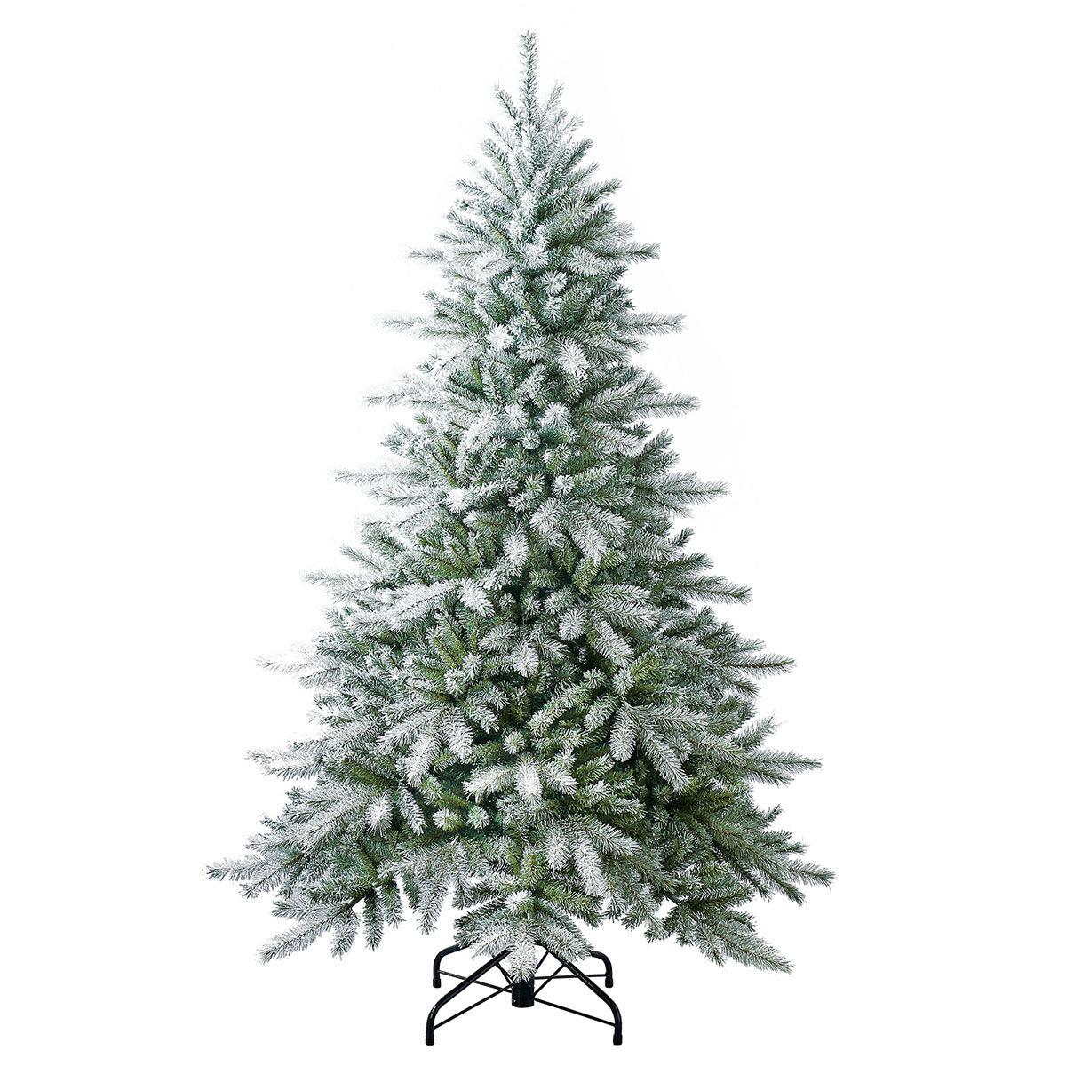Künstlicher Weihnachtsbaum Fichte, Schneeoptik, 180 cm   #2