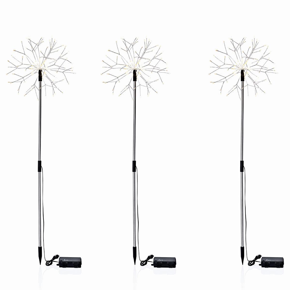 LED-Gartenstecker Pusteblume, 3er- Set | #2