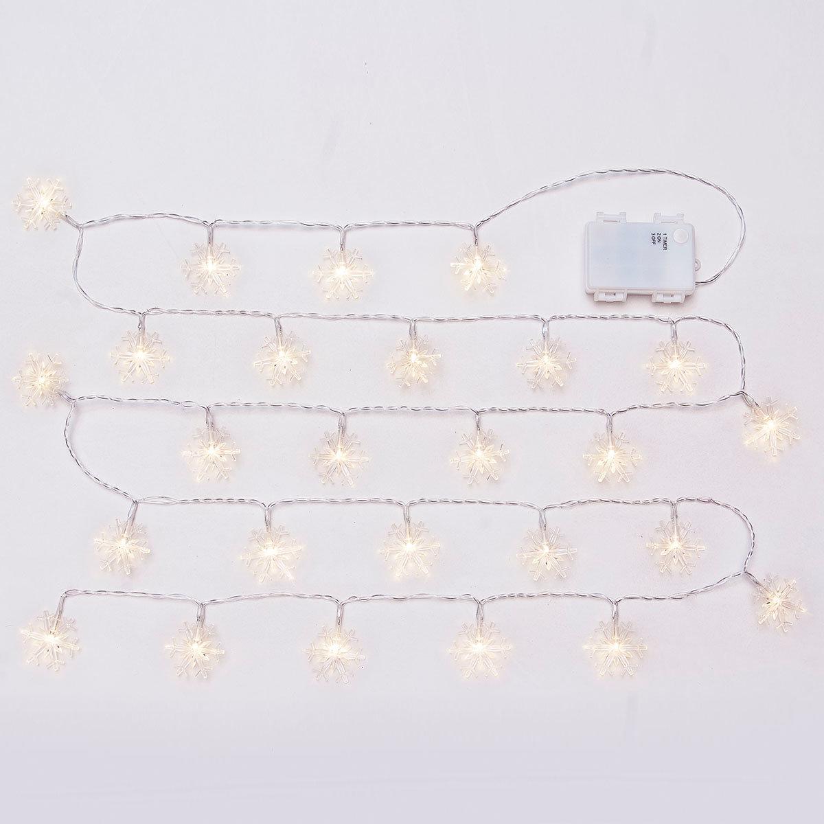 LED-Lichterkette Eiskristalle, 240cm | #2