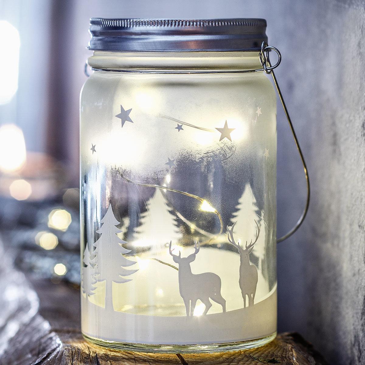 Sparset LED-Glasleuchte Weihnachten | #2