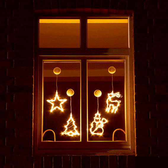 LED-Motive Fensterglanz, 4er-Set | #2